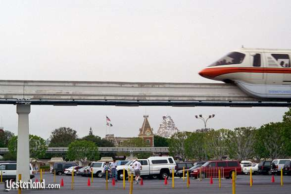 Parking Lot with Monorail