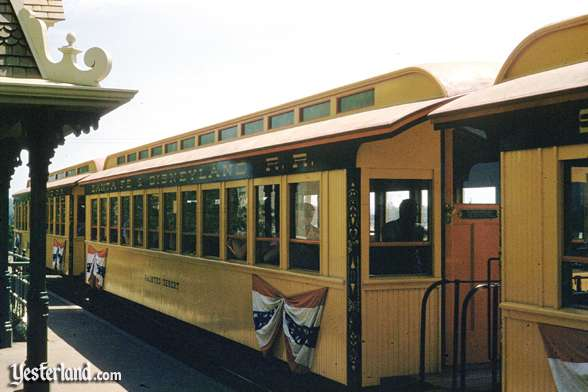 The Painted Desert coach is one of six coaches of the Passenger Train