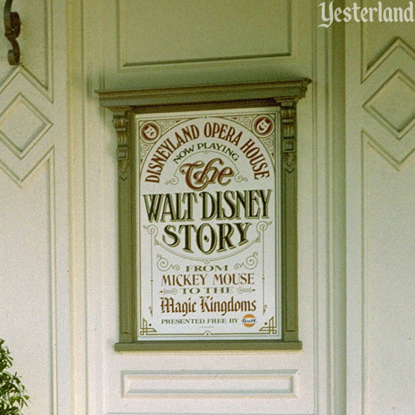 The Walt Disney Story, Disneyland