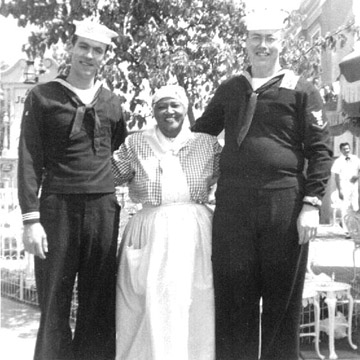 Aunt Jemima and Navy men