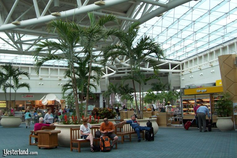 Orlando International Airport airside terminal 2