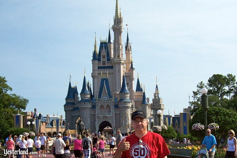 John Delmont at Cinderella Castle