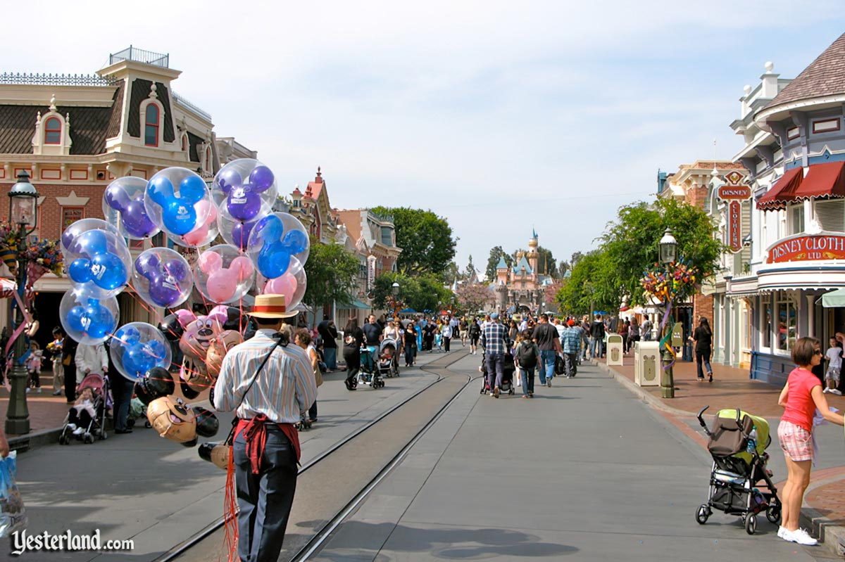 Main Street, U.S.A. at Disneyland