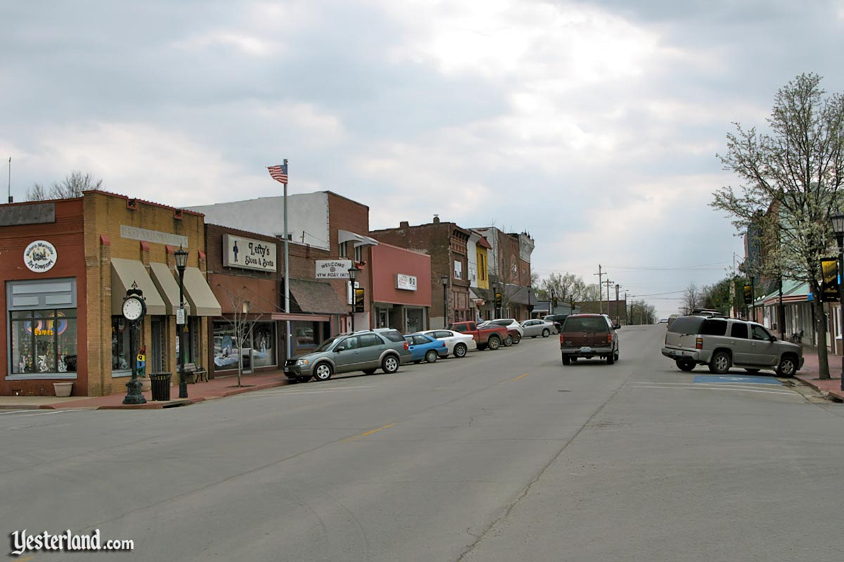 Main Street, U.S.A. in Marceline, Missouri