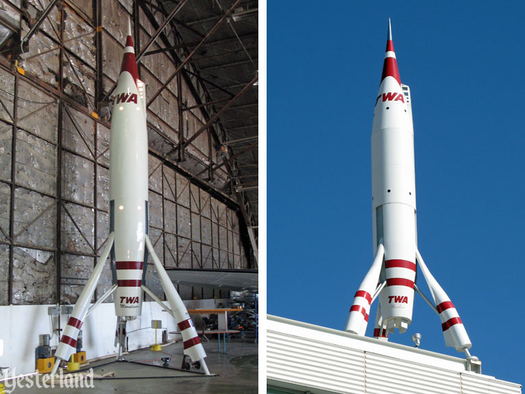 TWA Moonliner II and TWA Moonliner IV
