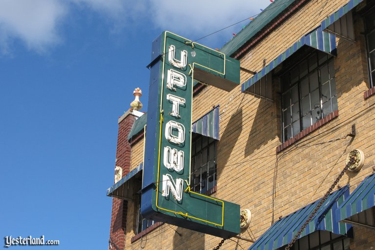 Uptown Theatre in Marceline, Missouri