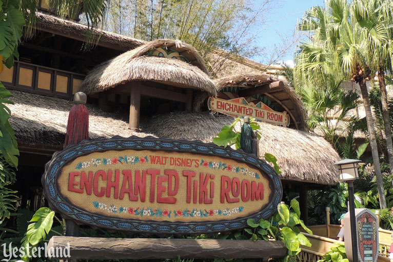 Walt Disney's Enchanted Tiki Room, Magic Kingdom, 2016