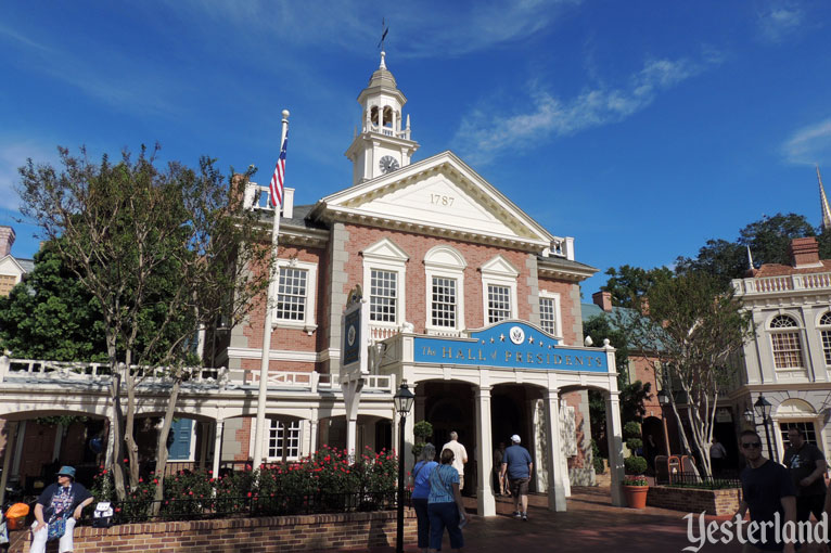 Hall of Presidents in Liberty Square at the Magic Kingdom