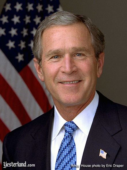 Official White House photo of George W. Bush, 2003, by Eric Draper
