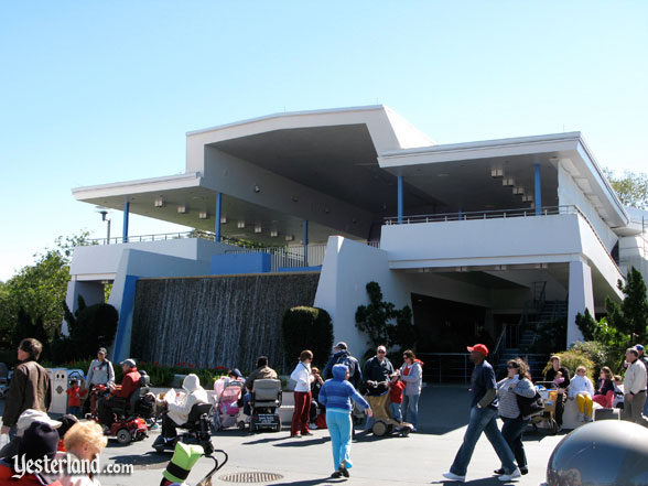 former Skyway station in Tomorrowland