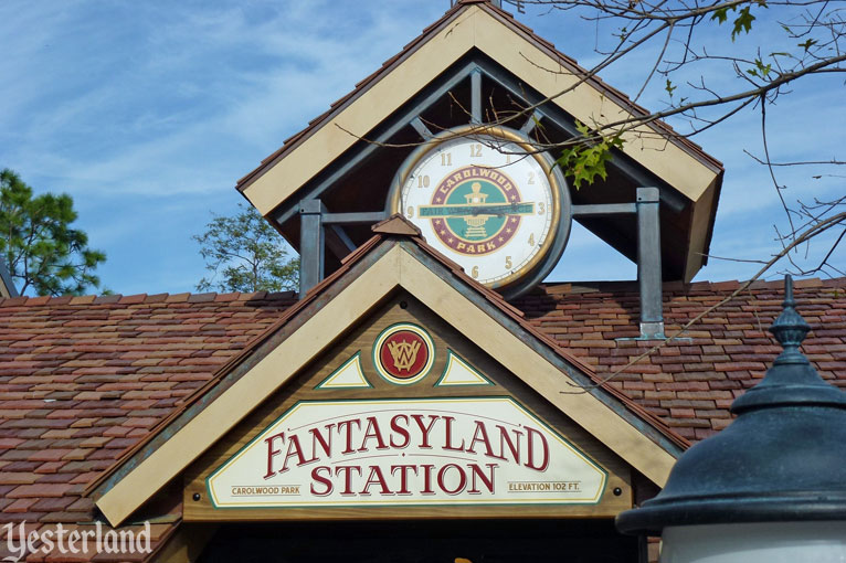Fantasyland Train Station at Magic Kingdom Park