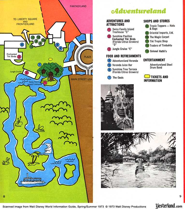 Magic Kingdom 1973, Adventureland