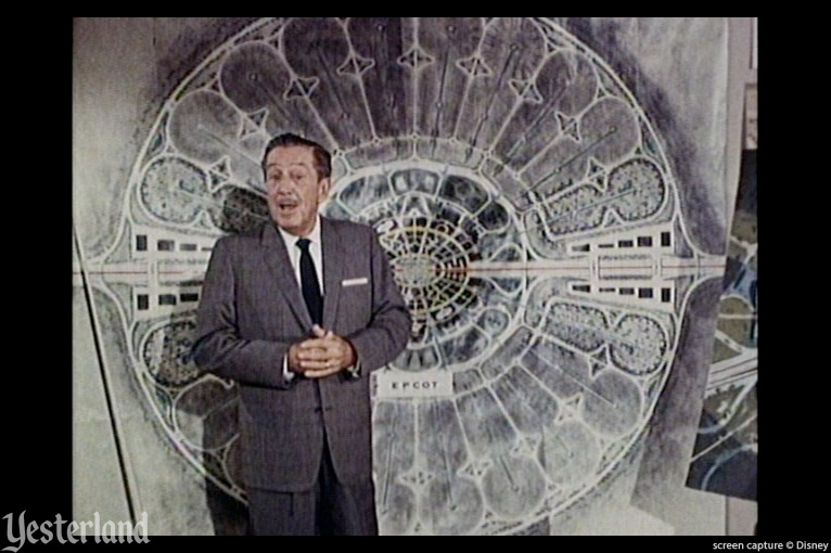 Screen capture from Walt Disney's EPCOT film