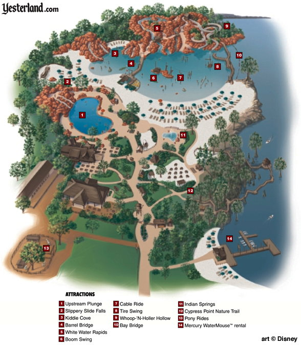 River Country at Walt Disney World