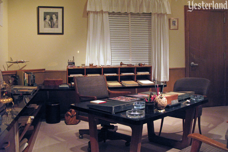 Walt Disney's working office in Walt Disney: One Man's Dream at Disney's Hollywood Studios
