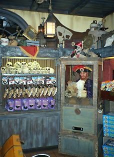 Photo of the Pieces of Eight shop
