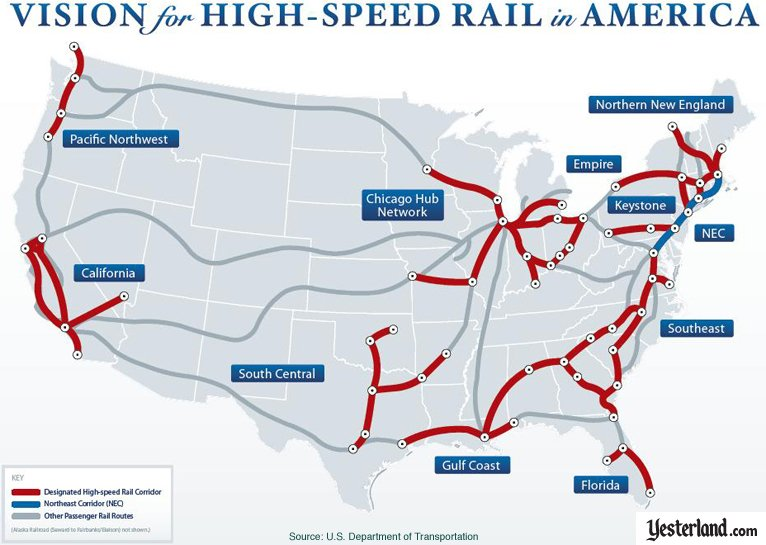 Image for an article about Florida High Speed Rail and Walt Disney World