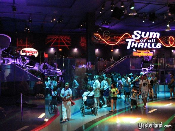 Sum of all Thrills at Epcot