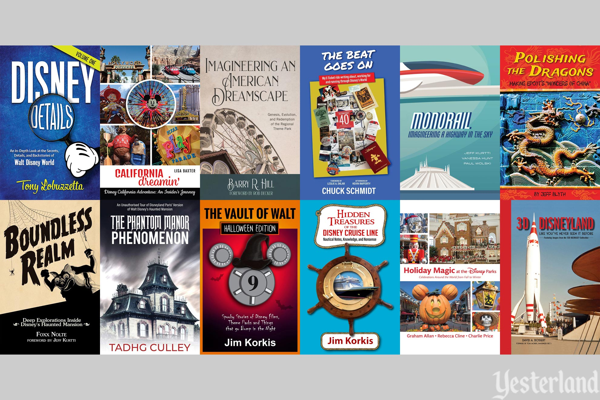 New Books for Disney Park Fans