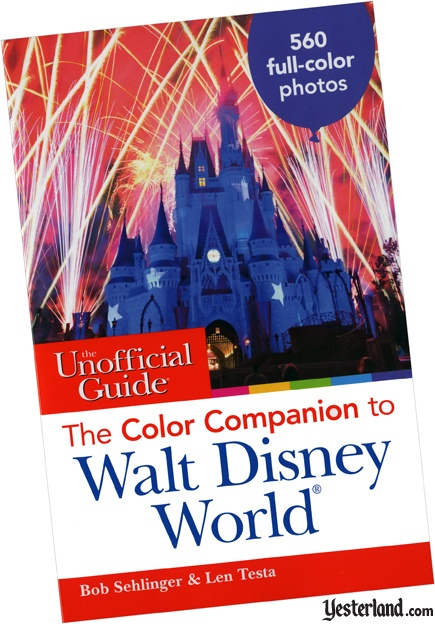 Scan of The Color Companion to Walt Disney World book cover