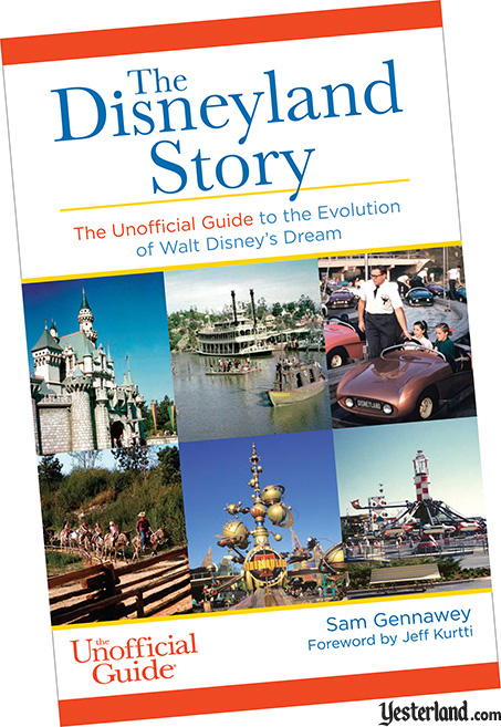 front cover: The Disneyland Story