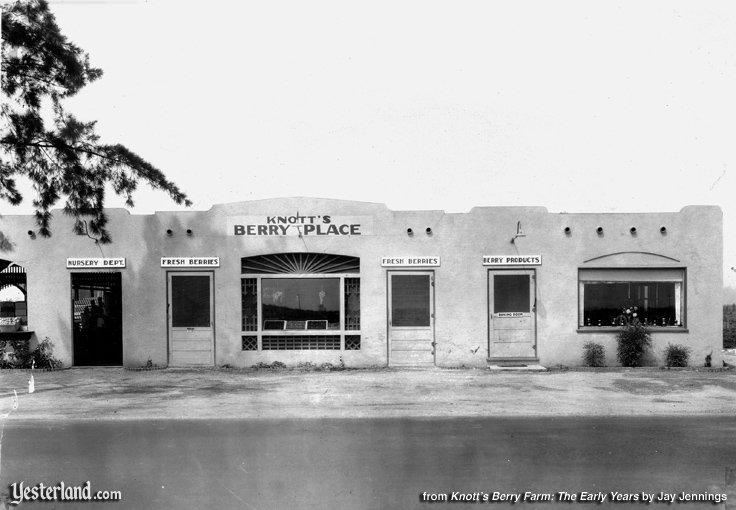 Photo from Knott's Berry Farm: The Early Years: Knott's Berry Place, 1928