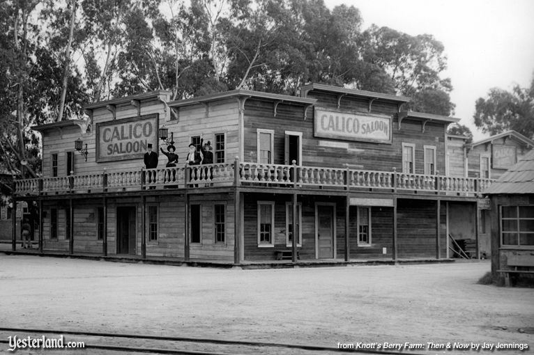 Knott's Berry Farm, Calico Saloon, built in 1951