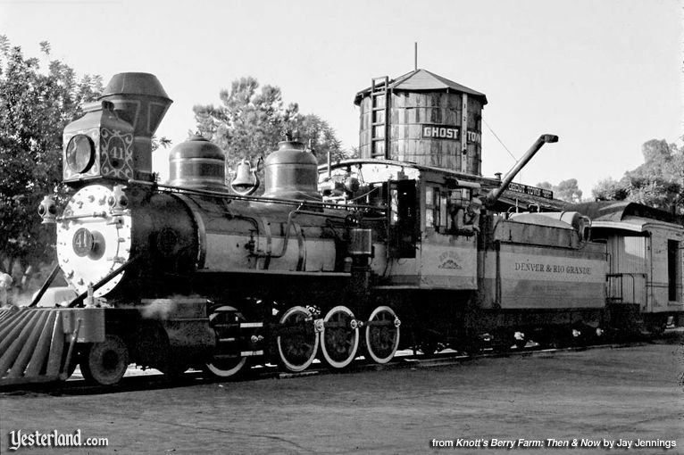 "Knott's Berry Farm, ""Old 41"" Steam Engine, brought to Knott's in 1951"