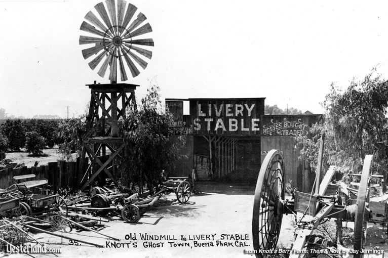 Knott's Berry Farm, Old Windmill and Livery Stable, built in 1940