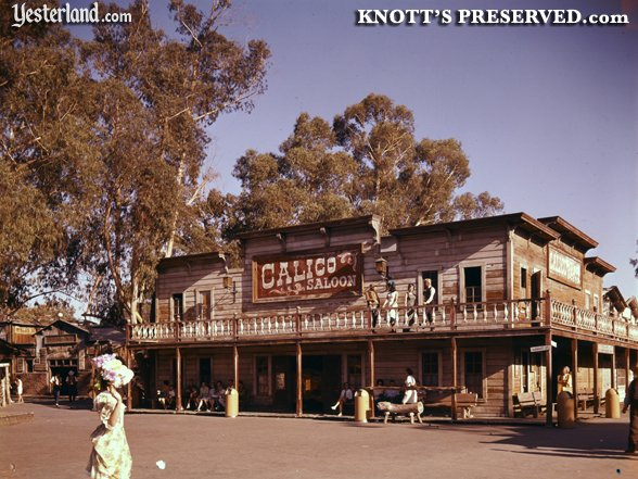 Historic Knott's Berry Farm image from Knott's Preserved