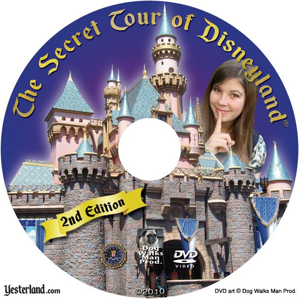 The Secret Tour of Disneyland disc art