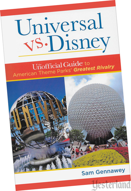 front cover: Universal vs. Disney