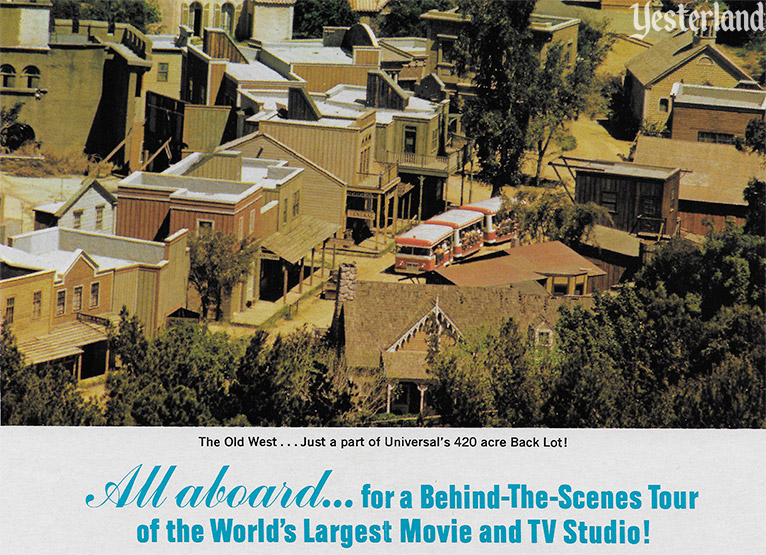 image from a 1972 Universal Studio City brochure