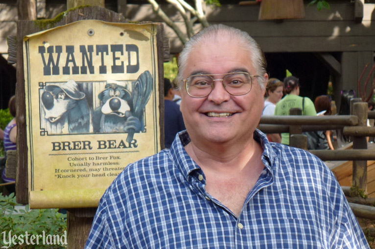 Author Jim Korkis at Magic Kingdom Park