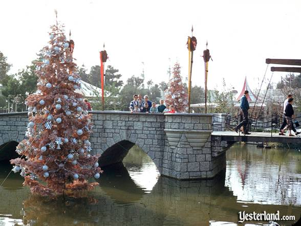 Photo of Disneyland at Christmas