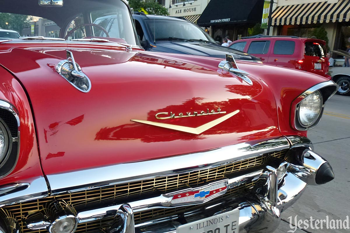 1957 Chevrolet hood ornaments