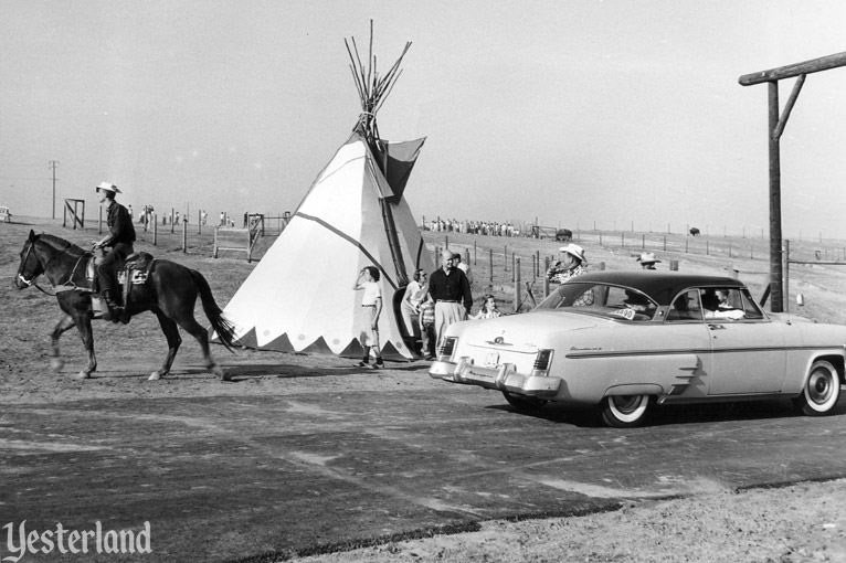 Newport Harbor Buffalo Ranch, photo by Robert Geivet, 1955, courtesy of the Old Orange County Courthouse Museum / Orange County Archives