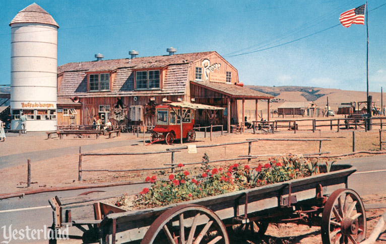 Newport Harbor Buffalo Ranch, courtesy of the Old Orange County Courthouse Museum / Orange County Archives