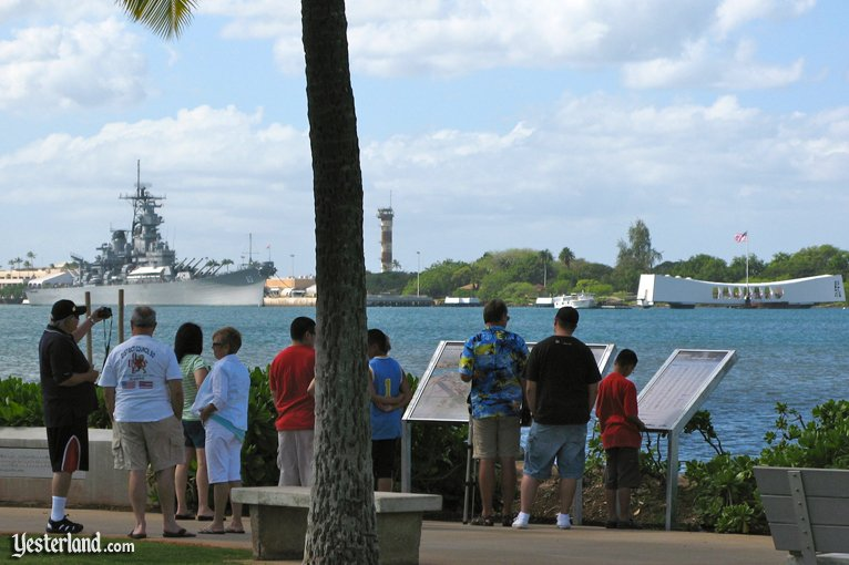 Battleship Missouri and USS Arizona Memorial