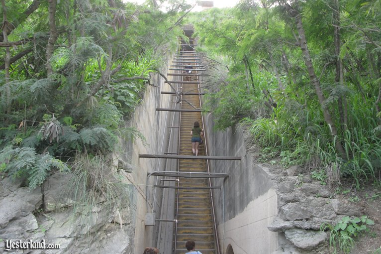 Stairs on the Diamond Head trail