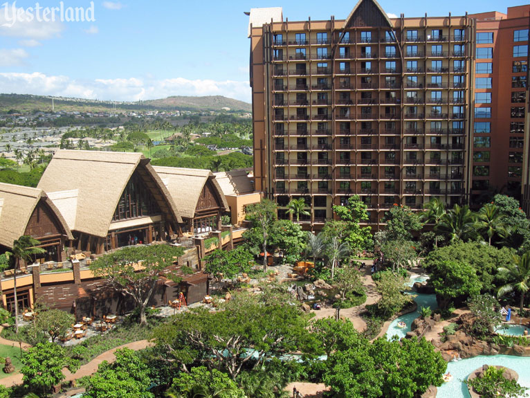 Aulani, A Disney Resort & Spa, at Yesterland