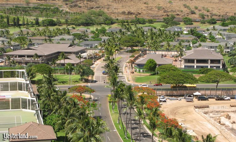 Ko Olina Center and Ko Olina Station, under construction