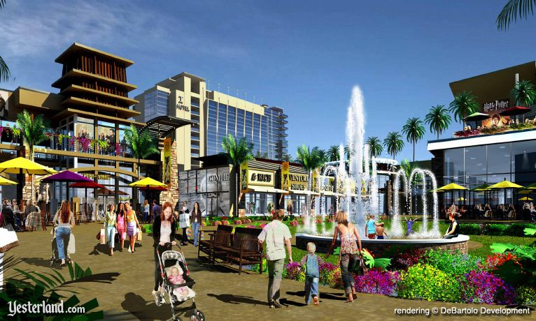 Artist Rendering of Ka Makana Alii, the huge shopping mall planned for Kapolei, Hawai'i