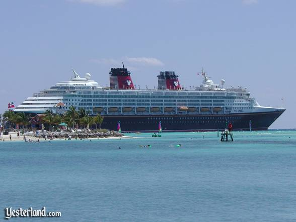 Photo of Disney Magic at Castaway Cay