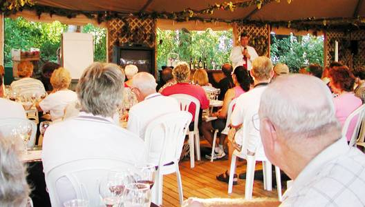 Photo of wine seminar at The Terrace
