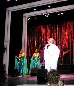 Photo of of Mary Wilson performance