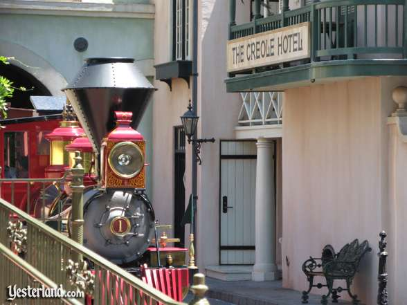 The Creole Hotel at Disneyland