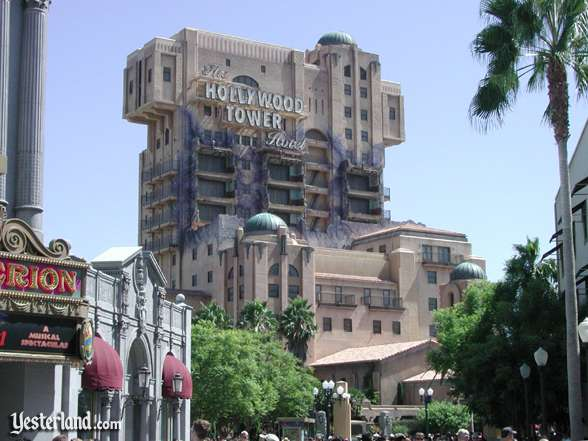 Hollywood Tower Hotel at California Adventure
