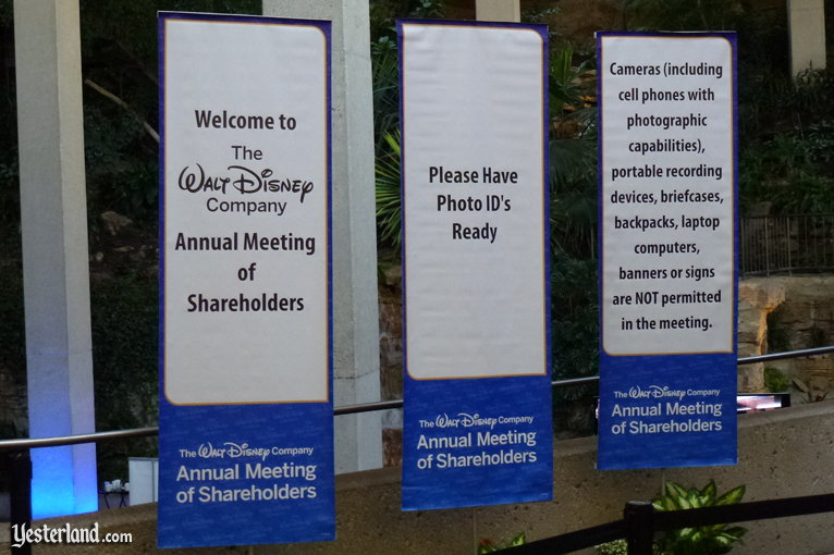 2012 Annual Meeting of The Walt Disney Company