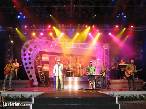 Photo of The Beach Boys in concert at Epcot